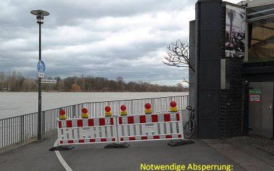 Rodenkirchen: Leinpfad für Durchgang gesperrt (fast)