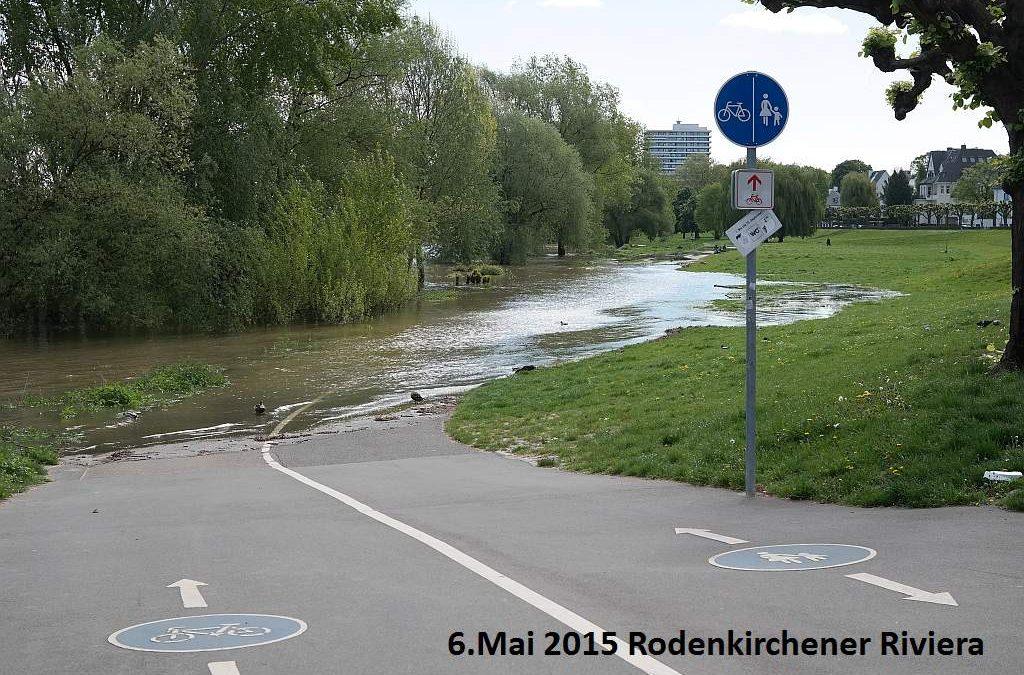 Kleines Mai-Hochwasser