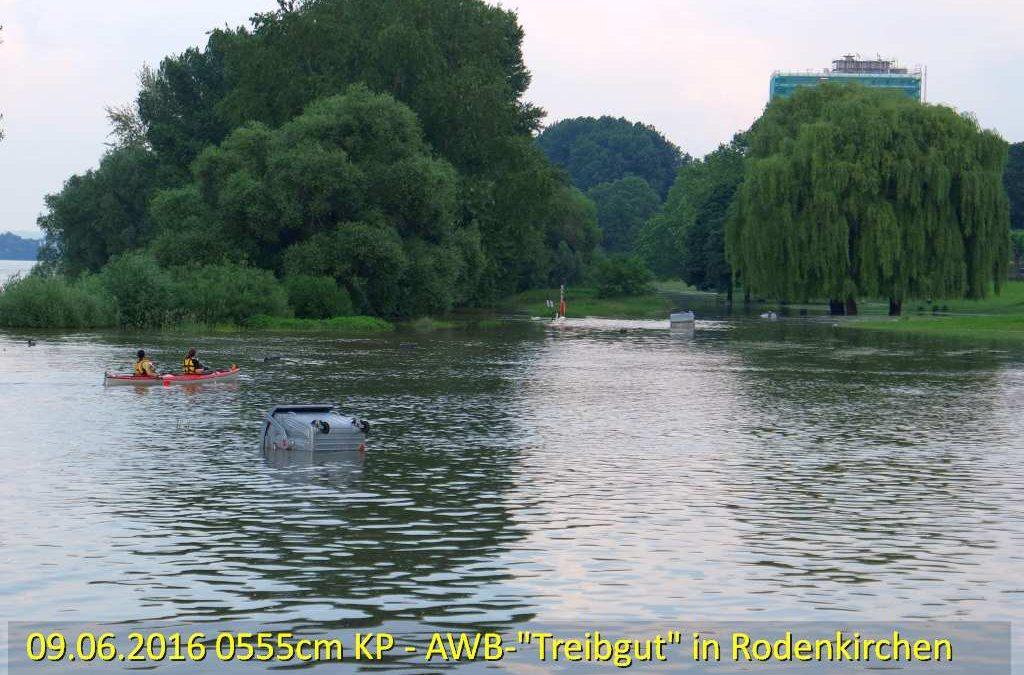 Kleine Juni-Hochwasserwelle hält sich…