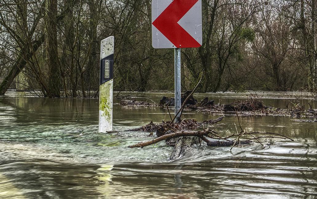 Zweite Hochwasserwelle am Scheitelpunkt