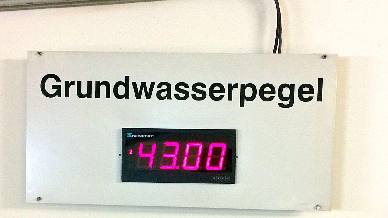 Grundwasserpegel Tiefgarage Maternusplatz