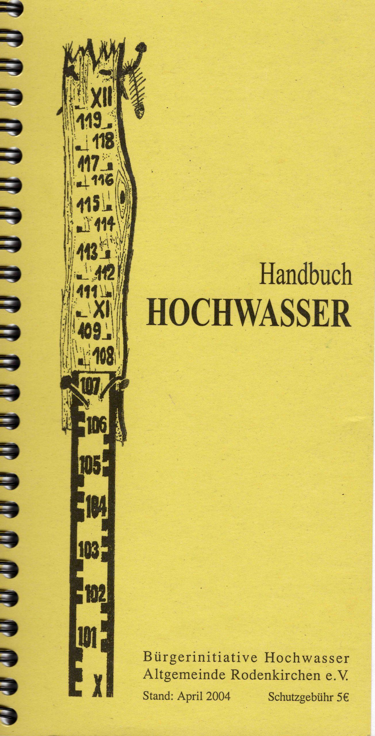 Handbuch Hochwasser