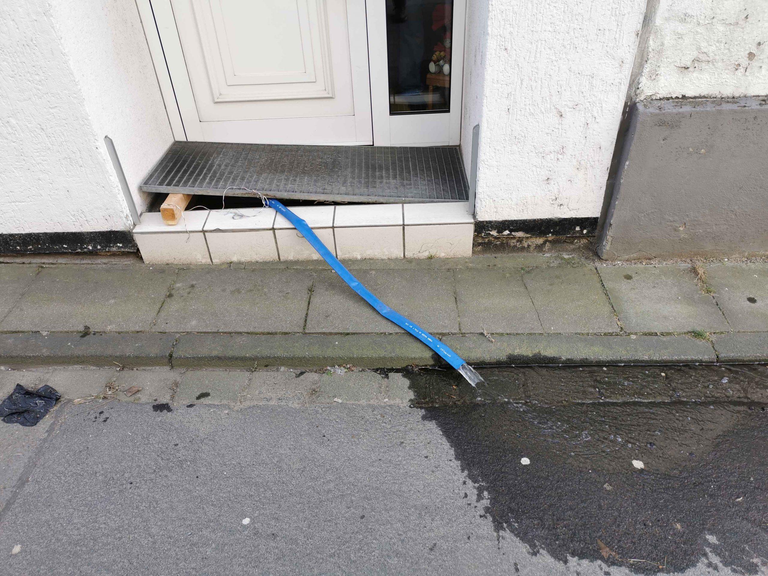 Grundwasser in der Mittelstraße
